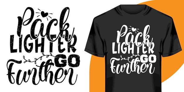 Pack plus léger t-shirt aller plus loin
