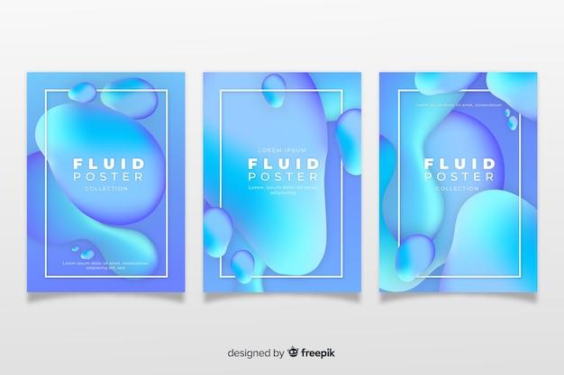 Pack de posters de formes dynamiques