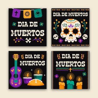 Pack de publications instagram du jour des morts