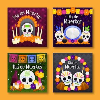 Pack de publications instagram le jour des morts