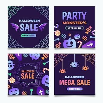 Pack de publications instagram pour halloween