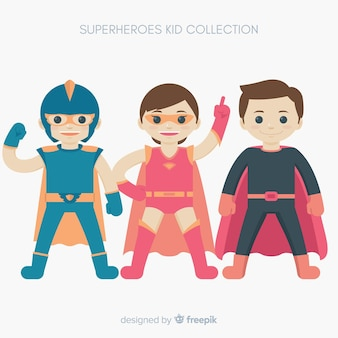 Pack de super-enfants