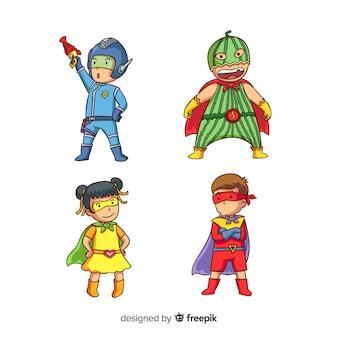 Pack de super-enfants