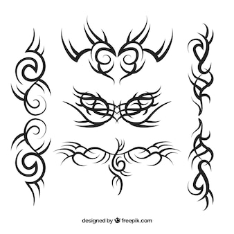 Pack de tatouage tribal