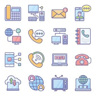 Pack de technologie de communication