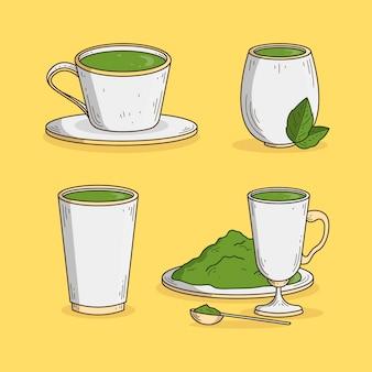 Pack thé matcha