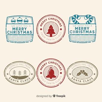 Pack de timbres simples de noël
