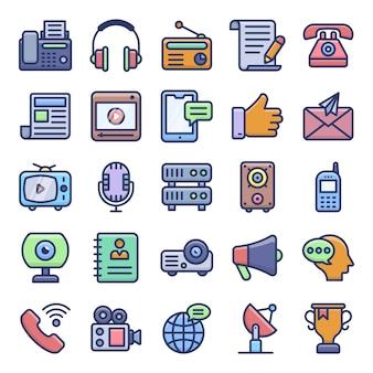 Pack de vecteurs de communication