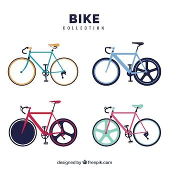 Pack vélo en forme plate