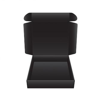 Package réaliste de vecteur pour logiciel, appareil électronique et autres produits