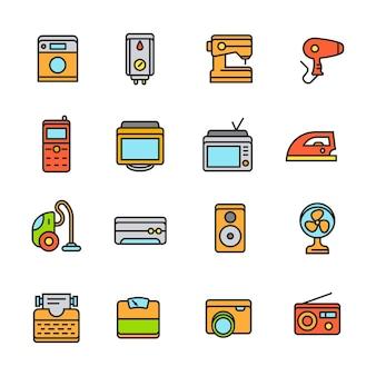 Paforo icon set (appareil ménager)