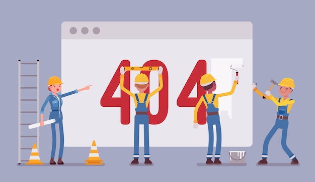 Page 404 en construction