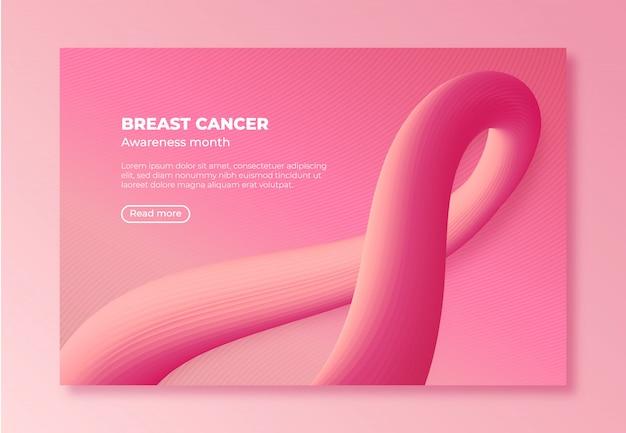 Page d'atterrissage du cancer du sein