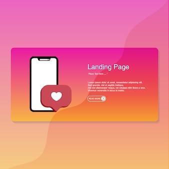 Page de conception plate