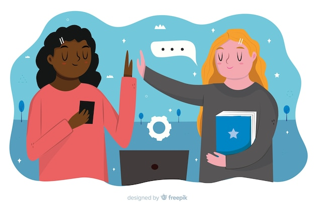 Page de destination des collaborateurs concept