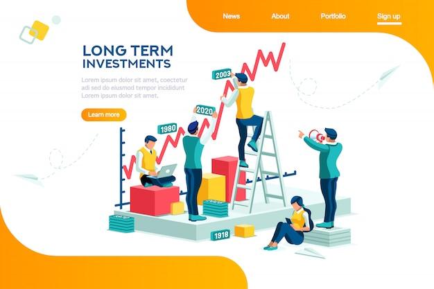 Page de destination de la gestion d'entreprise