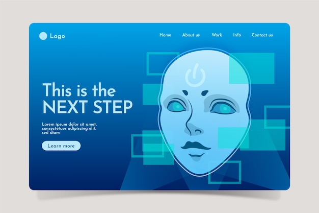 Page de destination de l'intelligence artificielle