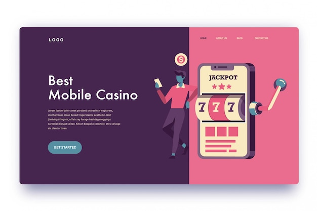 Page de destination meilleur casino mobile