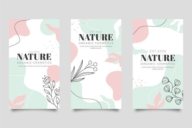 Page de destination de la nature