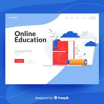 Page de destination