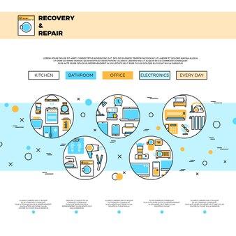 Page web du service de réparation d'appareils ménagers