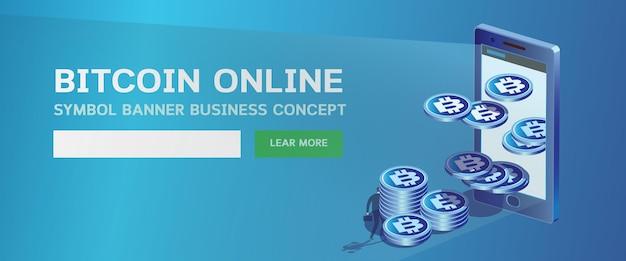 Page web en ligne bitcoin