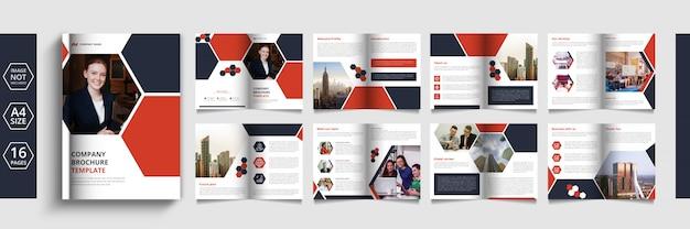 Pages brochure commerciale ou catalogue