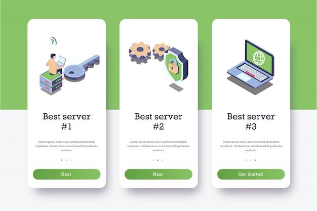Pages intégrées au serveur