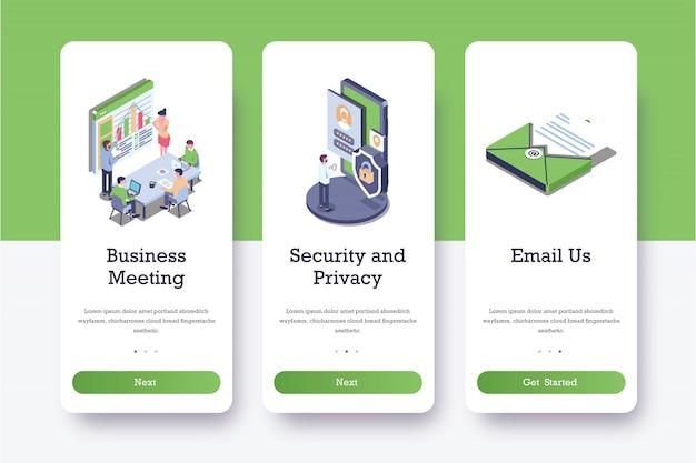 Pages intégrées de sécurité et de confidentialité