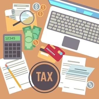 Paiement de l'impôt