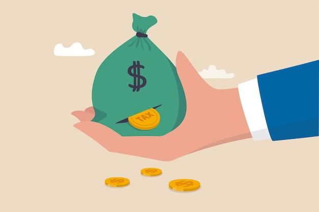 Paiement d'impôts ou perte d'argent sans planification fiscale