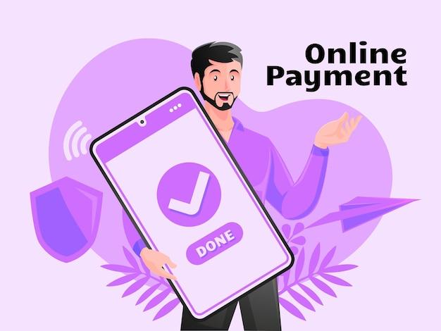 Paiement en ligne paiements internet transfert d'argent