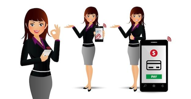 Paiements people-mobil élégants