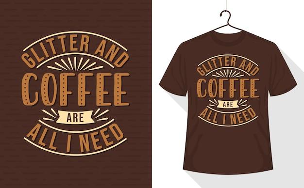 Des paillettes et du café sont tout ce dont j'ai besoin