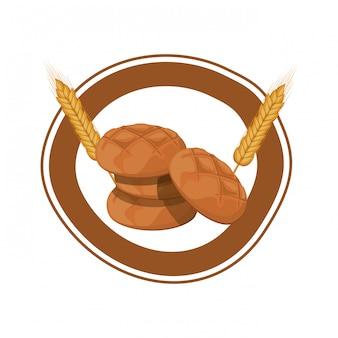 Pain de bagel frais et délicieux