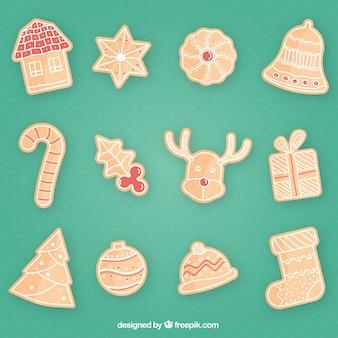 Pain d'épice biscuits de noël