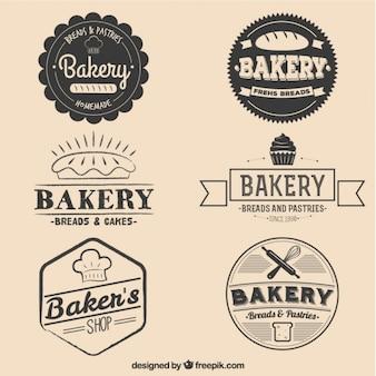 Pains et gâteaux badges