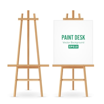 Paint desk vector