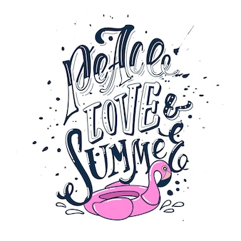 Paix amour et été