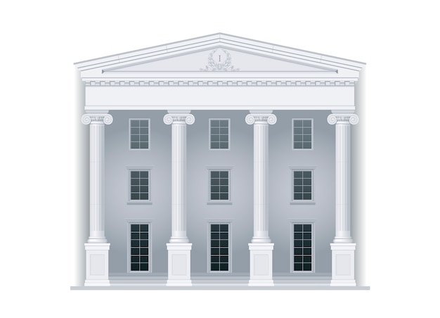 Palais de justice de style classique