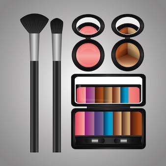 Palette de fard à paupières cosmétiques maquillage