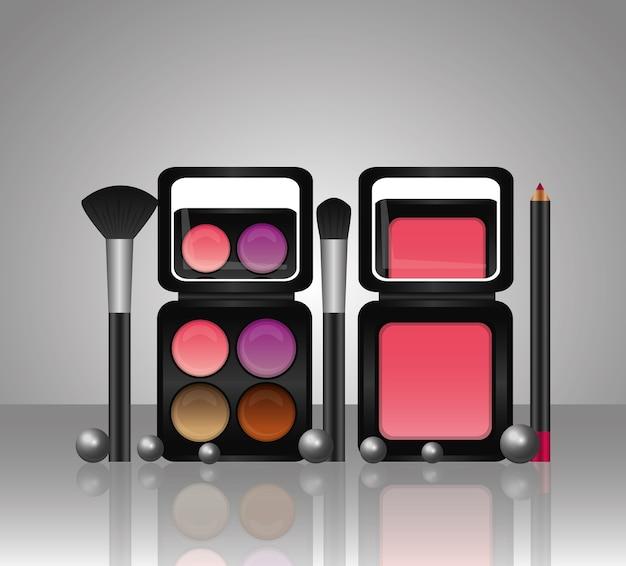 Palette de maquillage de cosmétiques