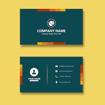 Palette switch gold carte de visite