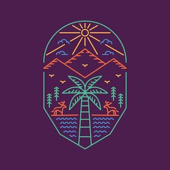Palm et extérieur 1