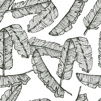 Palm laisse ligne main modèle dessiné sans soudure