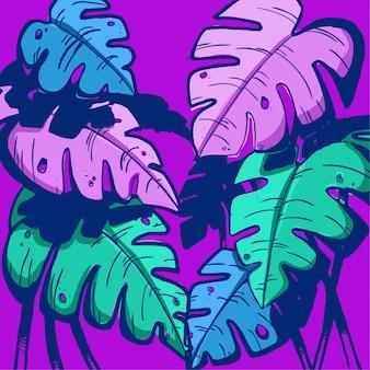 Palme couleurs