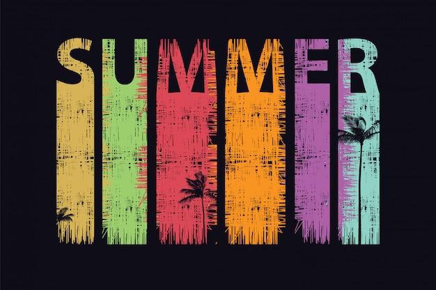 Palmiers d'été