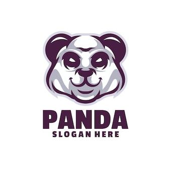 Le panda furieux image insolite pour un panda mignon et gentil
