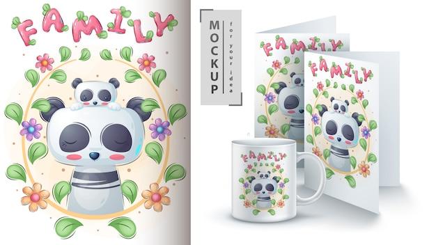Panda kid - affiche et merchandising