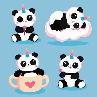 Pandas magiques